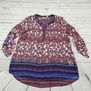 Daniel Rainn Top Size Large Exclusively For A Pea